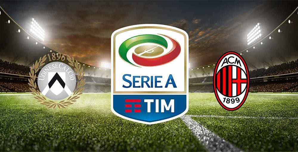 udinese - milan in streaming