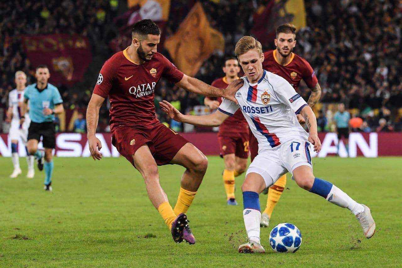 cska mosca - roma in streaming